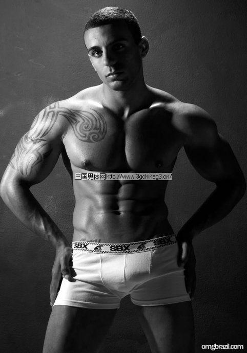 纹身 男体/纹身壮男体带给你不一样的肌肉男体精华